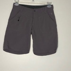 """The North Face gray 9"""" hiking athletic shorts"""